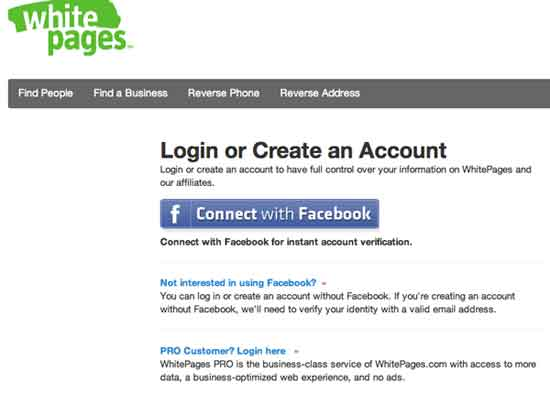 Login whitepages minnesota