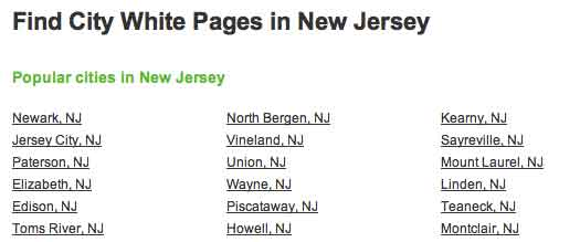 Famous cities NJ