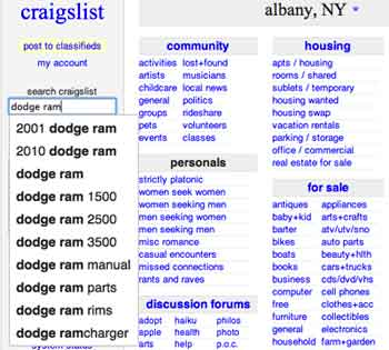 craigslist: new york city jobs, apartments, for sale ...